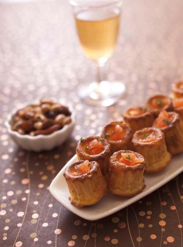Ces cannelés au saumon sont délicieux, en plus d'être facile à faire et peu onéreux. Cela vous fera un apéritif original et pas cher pour les fêtes !