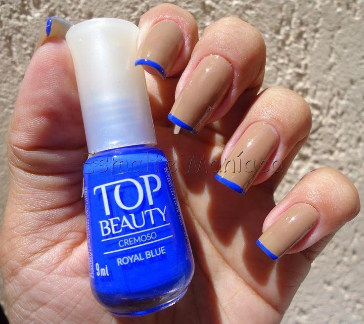 Inglesinha http://www.esmaltemaniaca.com.br/2014/11/inglesinha-nude-com-ponta-azul.html  FP http://www.facebook.com/pages/Esmalte-Maníaca/223271664358917   Instagram @bru_esmaltemaniaca http://instagram.com/bru_esmaltemaniaca