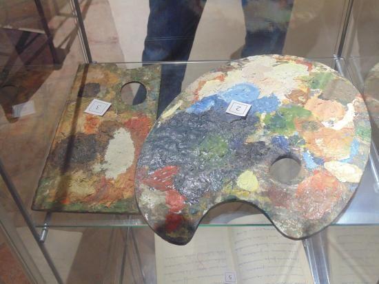 Museo Ligabue - Tavolozza
