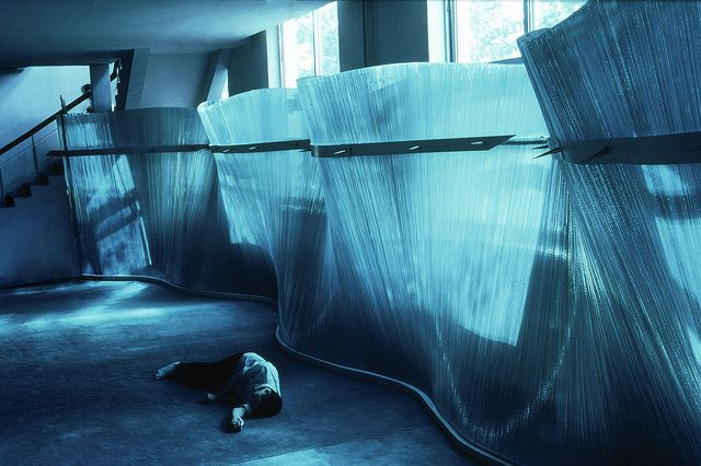 Wave Wall by Danny Lane Sculpture, via Flickr