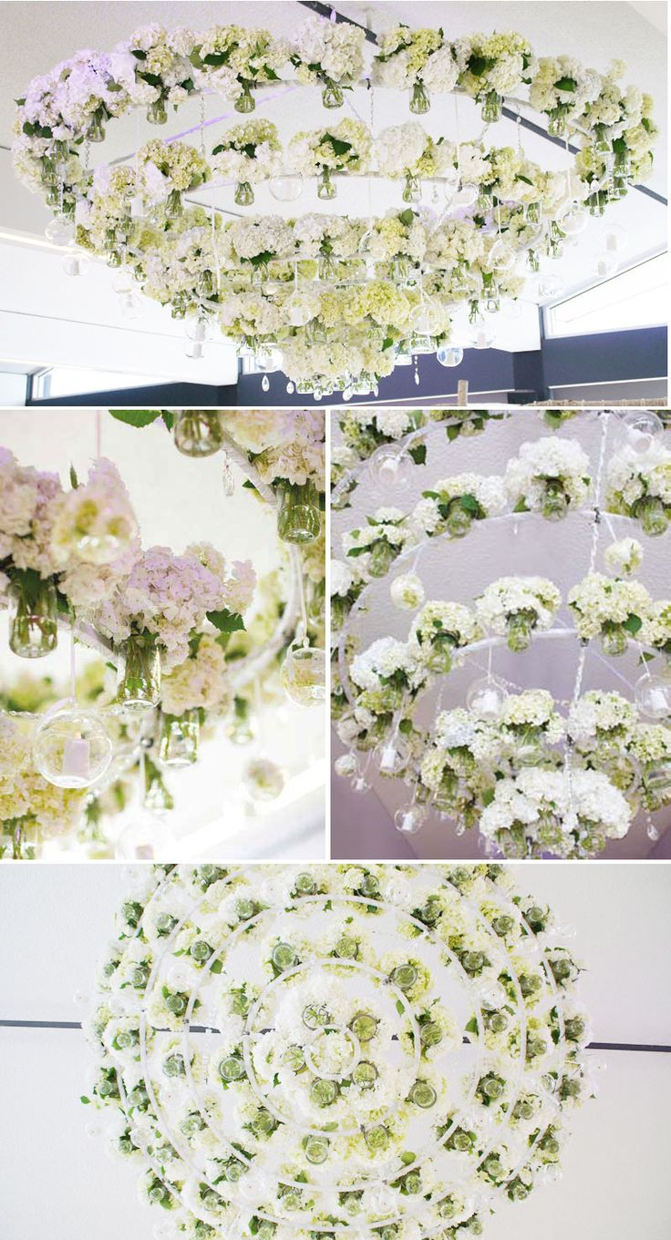 Best Chandeliers Images On Pinterest Chandeliers Floral - Beautiful diy white flowers chandelier