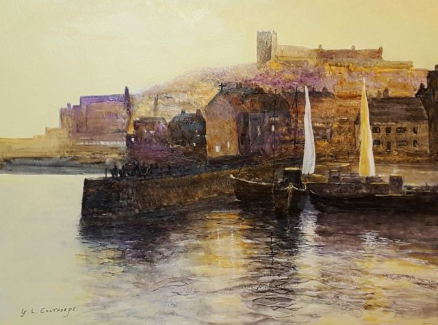 Whitby Harbour Sunset - Graham Colthorpe
