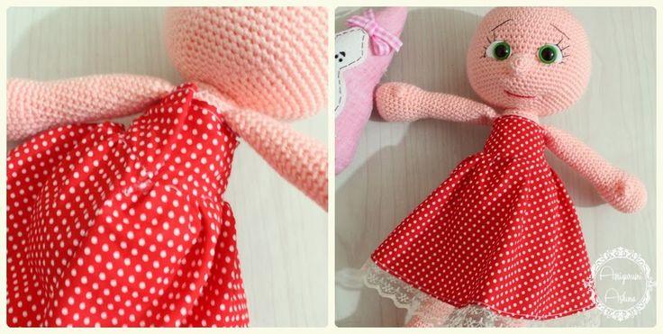 Oyuncak bebek elbisesi dikimi
