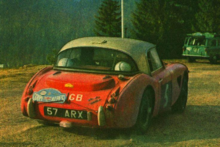 1962 Alpine Rally: Donald Morley, winner, works Austin-Healey 3000