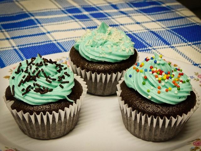 #Cupcake #color #chocolate #delicious