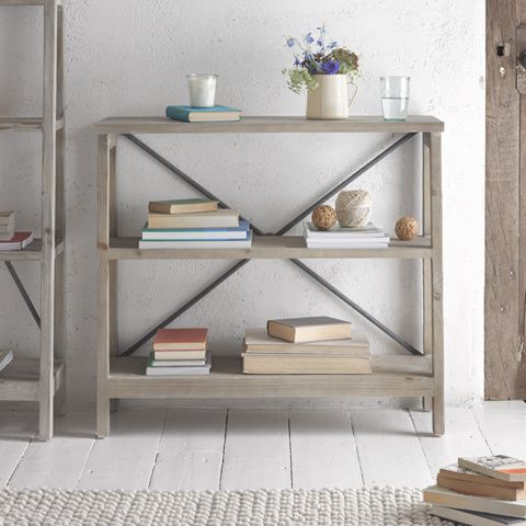 LIL' MUCKER STORAGE SHELVES Every bit as handsome as Big Mucker, this neat little book shelf is unassuming, subtle and really, really handy. Don't mind me.