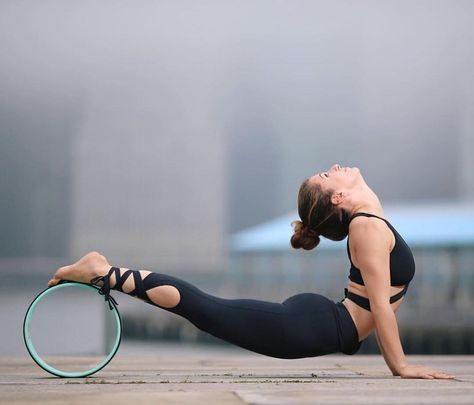 cobra with wheel   yoga