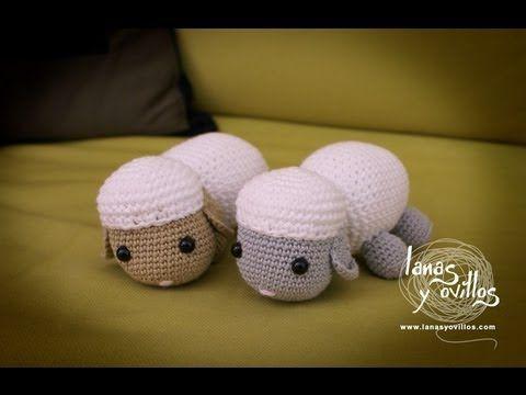 Tutorial Oveja Amigurumi Paso A Paso En Espanol : 39 best V?deos crochet images on Pinterest