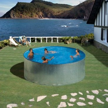 61 best piscinas montables de acero images on pinterest for Piscinas montables