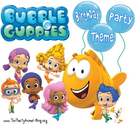 Do you have little ones that are big fans of Nick Jr's popular Bubble Guppies Show? If you are thinking of creating a Bubble Guppies Birthday Party based around the show then let me share with you some fun ideas to make it happen.