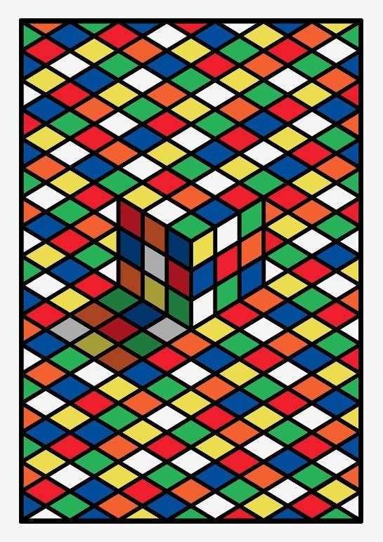Rubik's Cube — Malika Favre