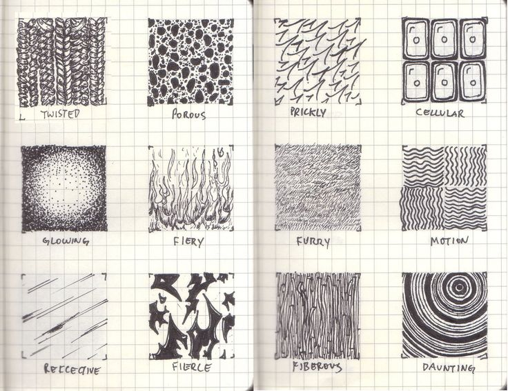Images For > Drawing Textures In Pencil