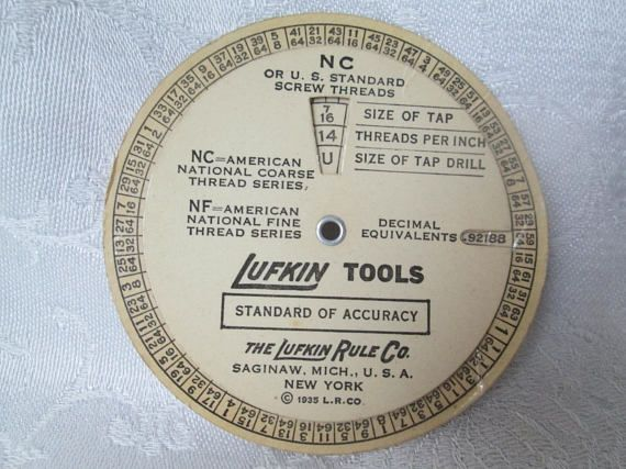 10 For Sale 2018 Here Is A Vintage Lufkin Tools Advertising