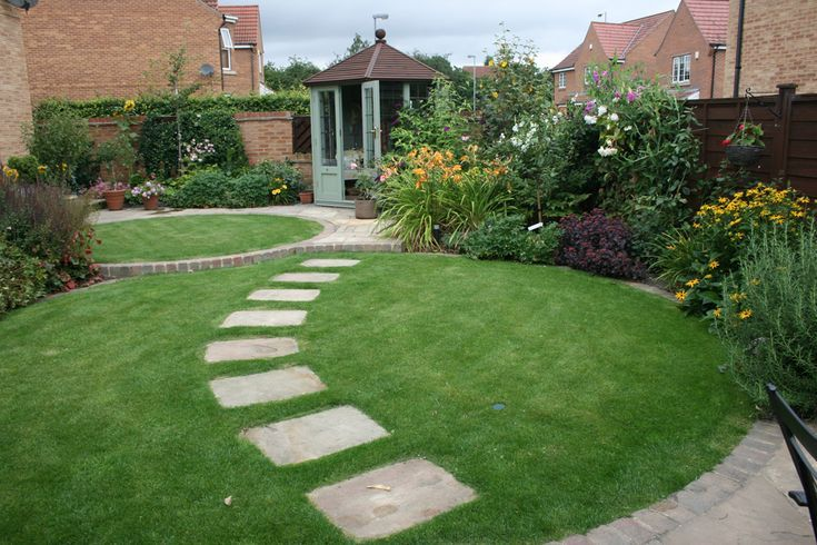 Testimonials Garden Design Leeds Tracy Foster Garden Design Garden Stepping Stones Garden Steps Circular Lawn