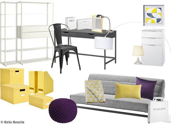 Les 37 meilleures images du tableau planches tendances de gris souris sur pinterest planches - Ikea planche bureau ...