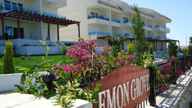 Sehr geräumige Maisonette Wohnung mit Panoramablick in Side (Yali)