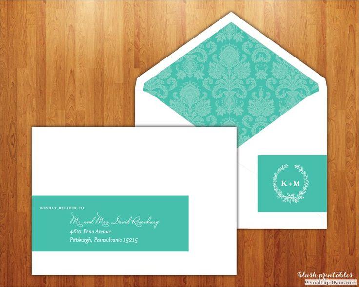 Wrap Around Address Labels. Wedding Address LabelsCustom Wedding InvitationsParty  ...