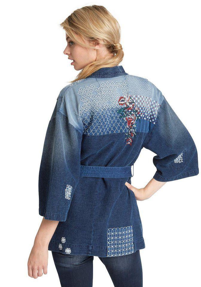 H.I.S Kurzjacken  Denim Jacket Kimono