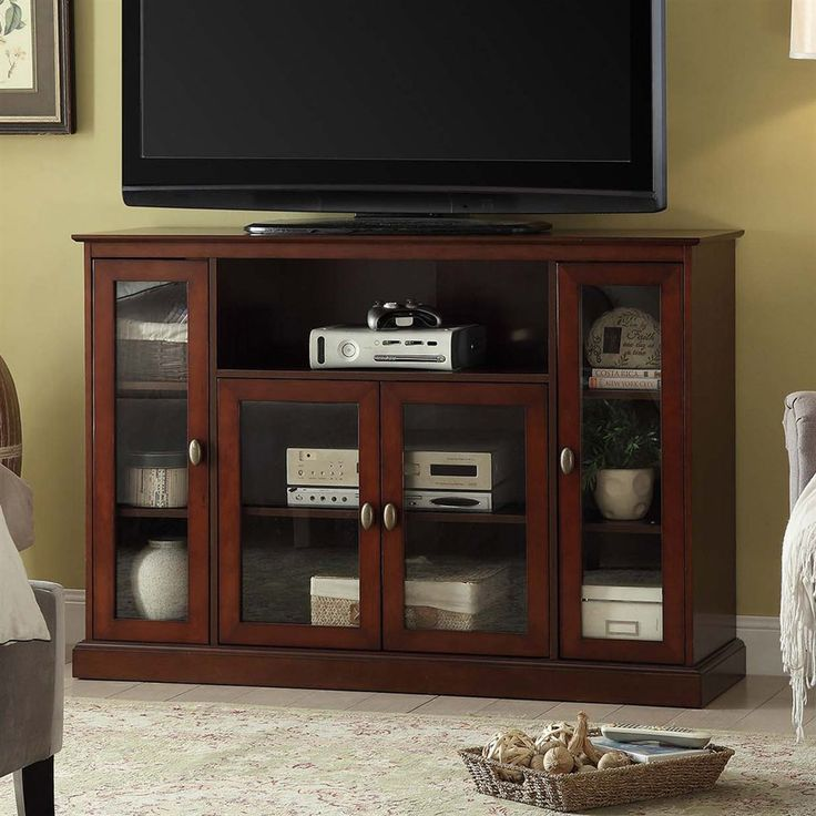 Convenience Concepts 8066036 Designs2Go Summit Highboy TV Stand at The Mine