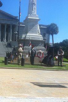 Confederate Memorial Day info via Wikipedia