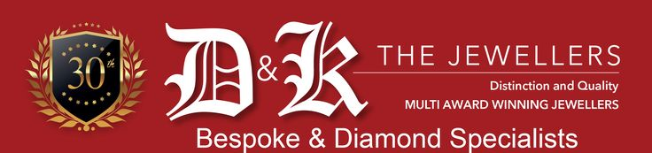 Northern Ireland's Diamond Ring Specialists are 30yrs old this year. D & K opened in 1986 meaning 2016 is an important anniversary. D & K stock a large and impressive selection of Engagement Rings in NI and Weddring Rings in Northern Ireland. As Bespoke Diamond Specialists NI any piece of jewellery can be commissioned and made especially for the wearer