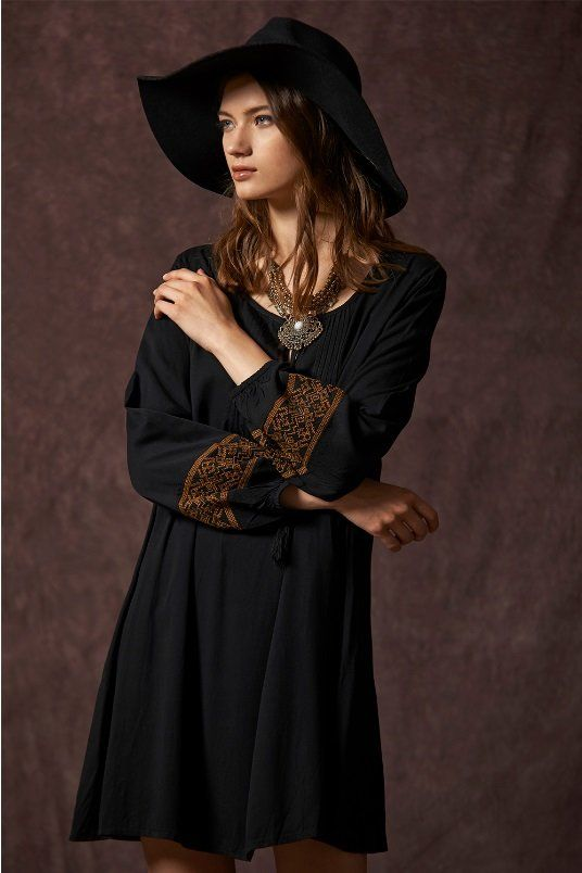 Vestido Bordado - Ana Conde Moda