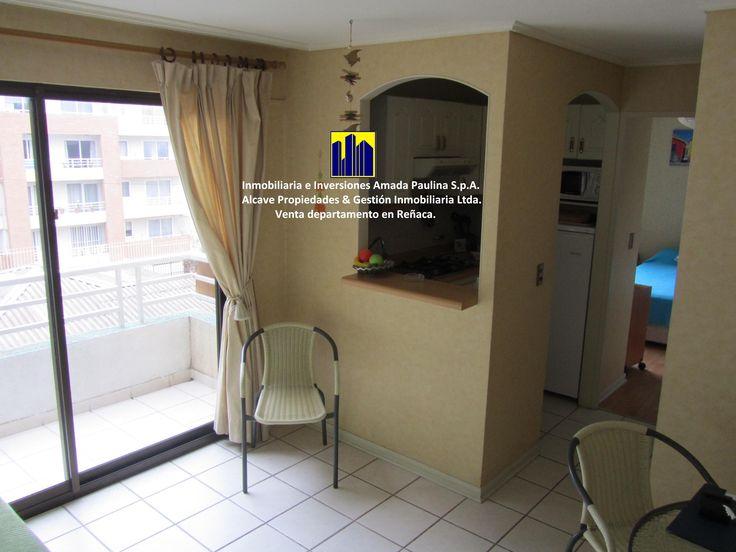 Inmobiliaria e Inversiones Amada Paulina S.p.A® Alcave Propiedades y Gestión Inmobiliaria Ltda® Venta de Departamento en Reñaca-2