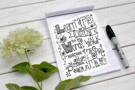 2018 Mutual Theme Peace in Christ coloring page. FREE DOWNLOAD!