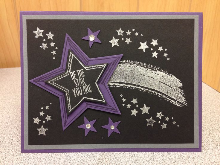 Be The Star from Stampin' Up! Created by Julie Douglas, Stamp Your Dream Designs