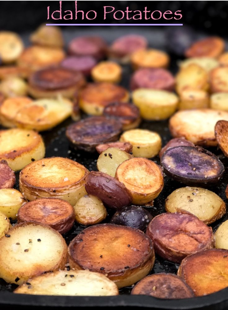 We feature local Idaho potatoes on all of our trips on the Middle Fork and Main Salmon rivers. Come join us and try them yourself.