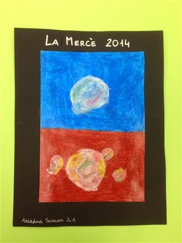 La Mercè Material: cartolina, ceres Nivell: CI Primària 2014/15
