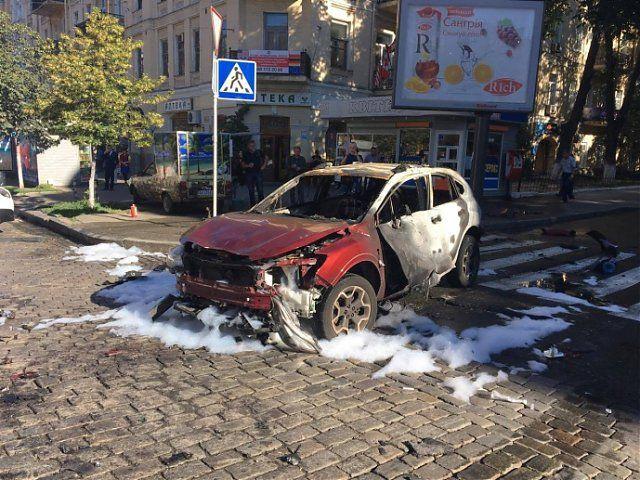 Διάσημος δημοσιογράφος σκοτώθηκε στο Κίεβο από έκρηξη στο αυτοκίνητο