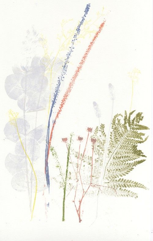 Natalie Ratcliffe Relief Print Inking
