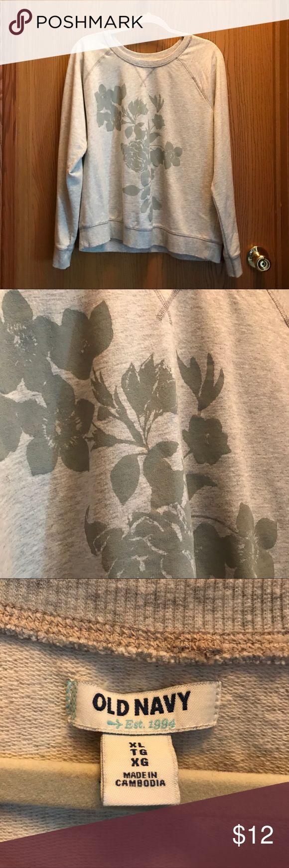 Old Navy Women's Light Sweatshirt Gently used. Lightweight. Excellent condition. Old Navy Tops Sweatshirts & Hoodies