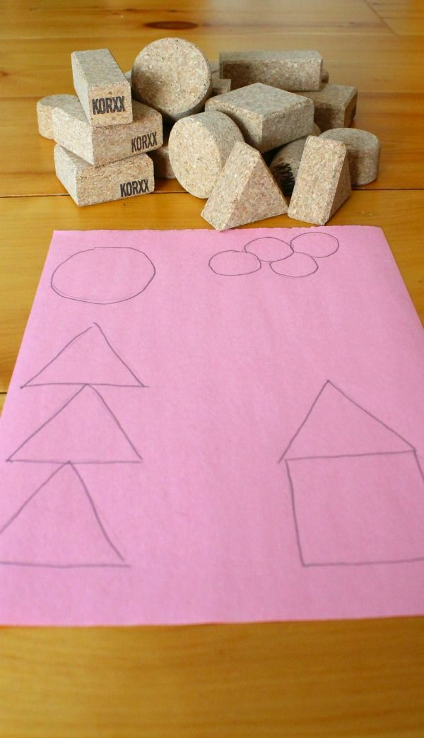 Make a puzzle out of blocks! This is a great quiet time activity for kids using KORXX. ad.
