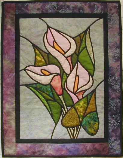Kameleon tekstildesign gallery stained glass quilts