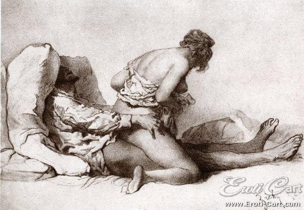 Ilustrações eróticas do século XIX - quase 200 anos atrás
