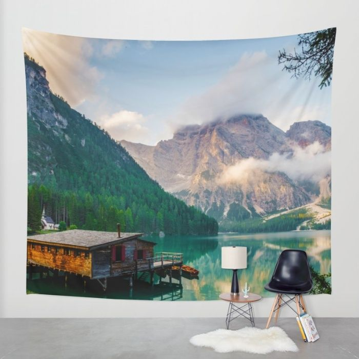 The Place To Be III Wall Tapestry by Mixed Imagery | Society6