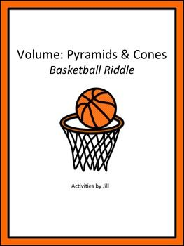 $ This is a great activity for basketball fans! Use it to celebrate March Madness and the NCAA tournament, or at any time of the year. Students will calculate volumes of pyramids (triangular, square, rectangular) and cones. Eleven problems are included on the worksheet. CCSS: HSG.GMD CCSS: 8.G