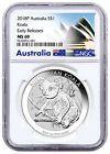2018-P Australia 1 oz Silver Koala $1 NGC MS69 ER Exclusive PRESALE SKU52179 Buy now! #exclusivesilver #australiaoz #koalaaustralia