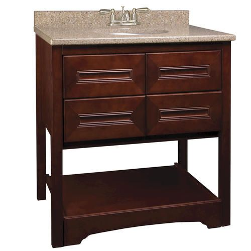 "PARK AVENUE Series - 30""(w) x 21""(d) Vanity at Menards ..."