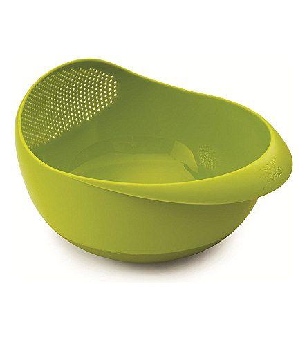 JOSEPH JOSEPH Prep & Serve large multi-function bowl (Green