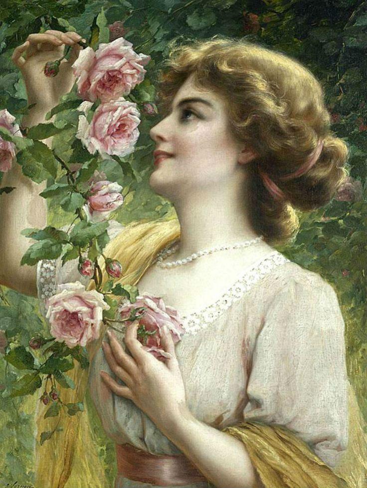 Красивые открытки с изображением женщины