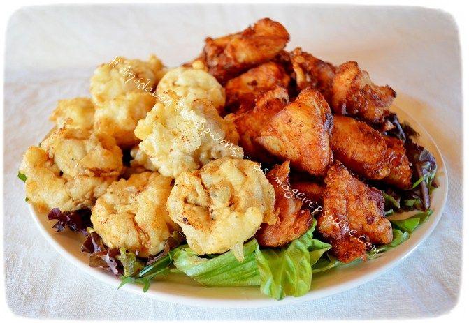 Κοτόπουλο και ολόκληρα μανιτάρια με κουρκούτι