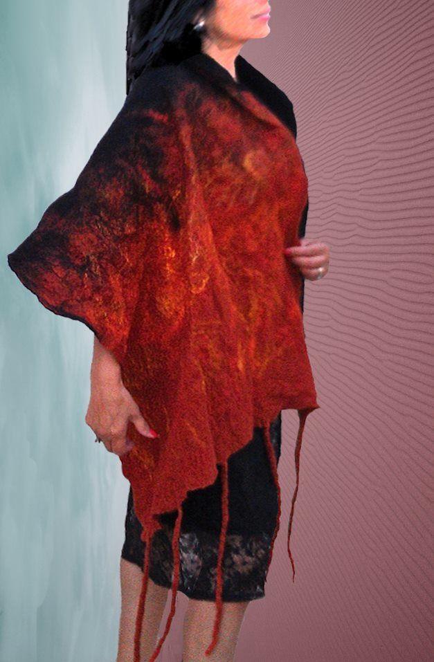 Chal Fuego de Pasion Textil