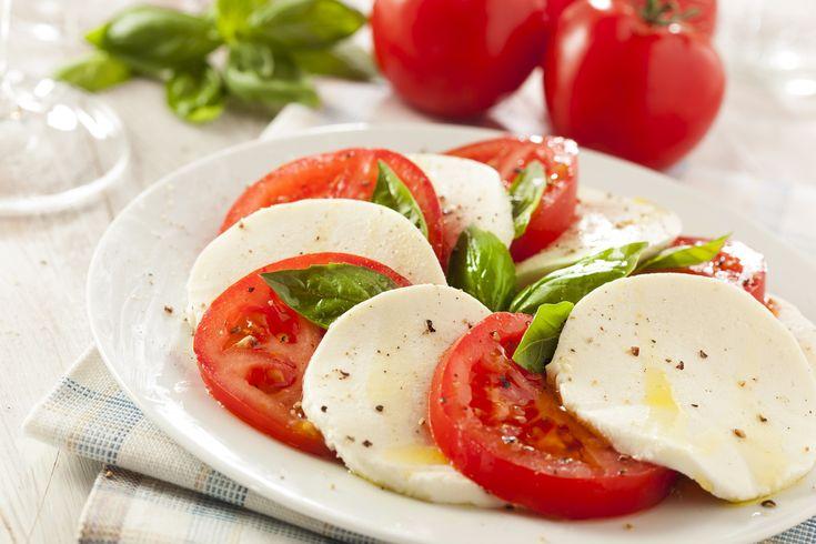 Dalla bella Italia, insalata caprese con mozzarella di bufala