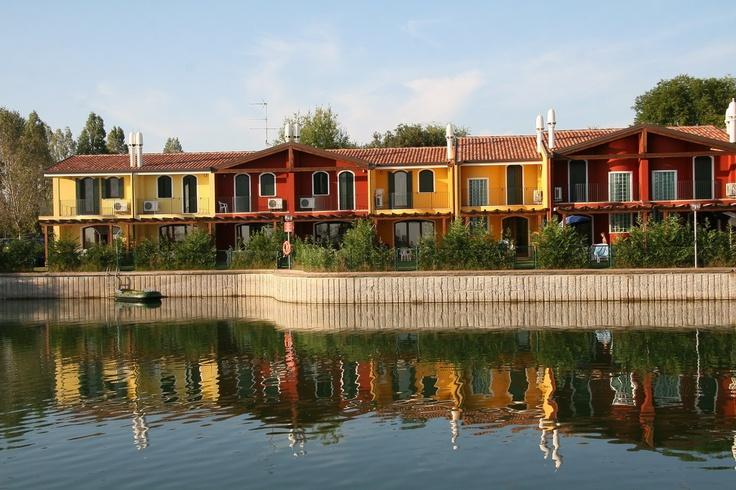 PepeMare: Ferienhäuser auf Albarella, Venetien
