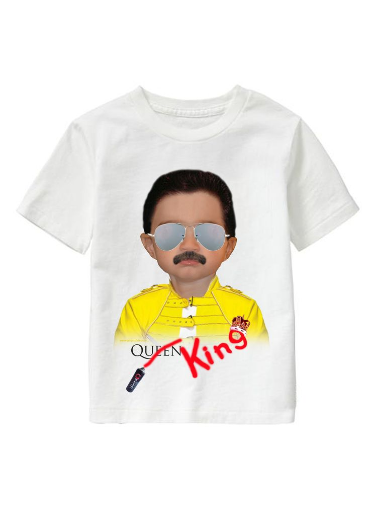 Queen personalized T-shirt www.ghigostyle.com