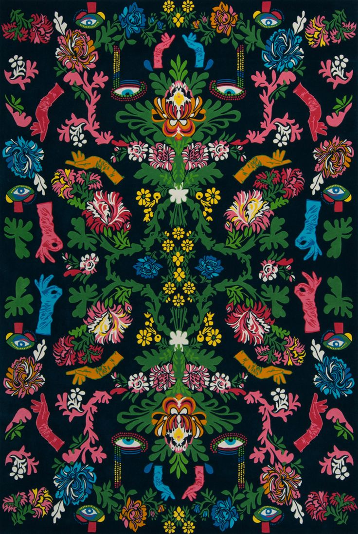POWDER ROOM | Designer Rugs' new Romance Was Born collection is fantastical, visionary and not for the faint at heart. Fashion label Romance Was Born is synonymous with the words creativity and collaboration, and is the most recent design house to partner with Designer Rugs for another celebrated collection. Unleashing its wondrous imagery, kaleidoscopic colours and chimerical style, Romance Was Born has created a fanciful and visionary collection of rugs.