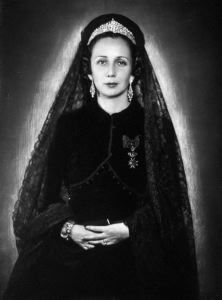La principessa Schomburg - anni 40 di Ghitta Carell